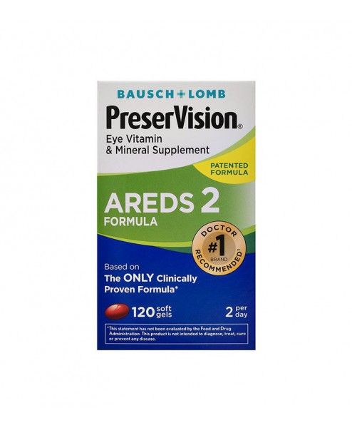 PreserVision AREDS 2 Formula Eye Vitamin Mineral Supplement Softgels